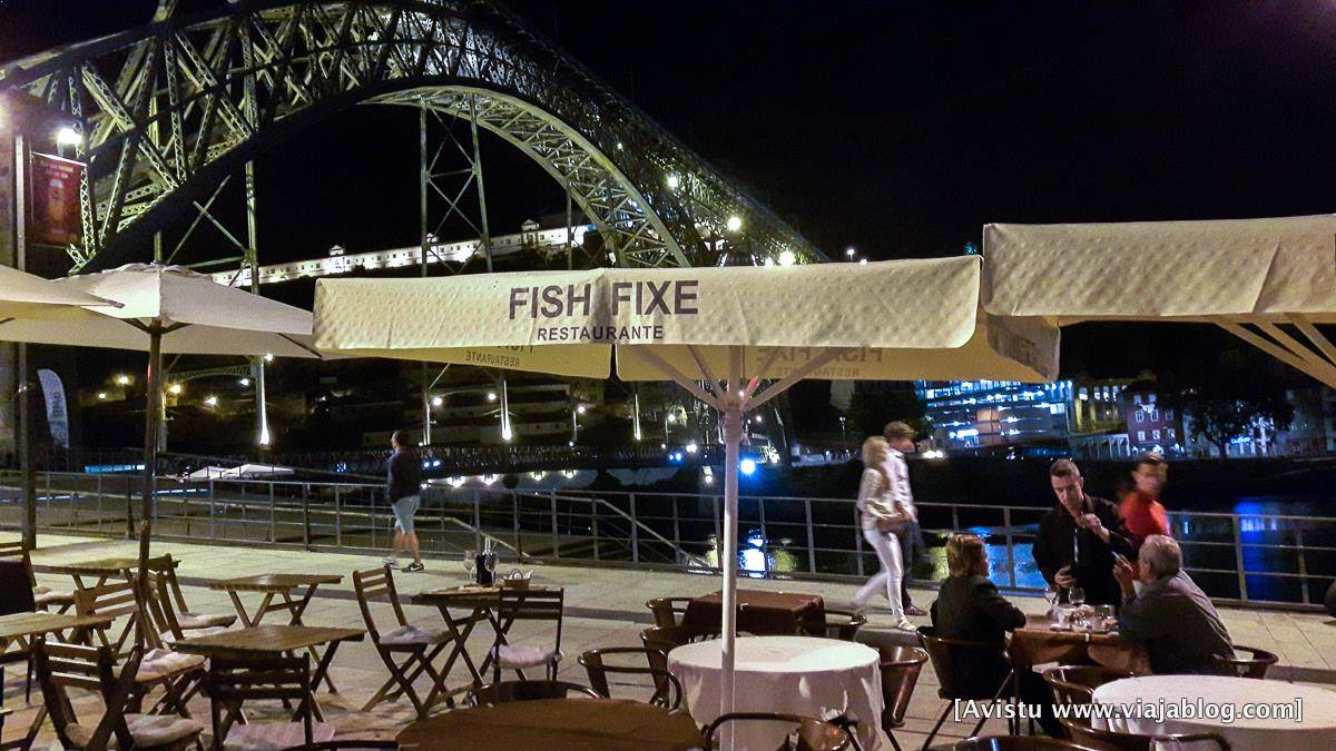 Restaurante Fish Fixe en Oporto (Portugal)