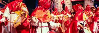 Procesión Semana Santa Avilés (Asturias)