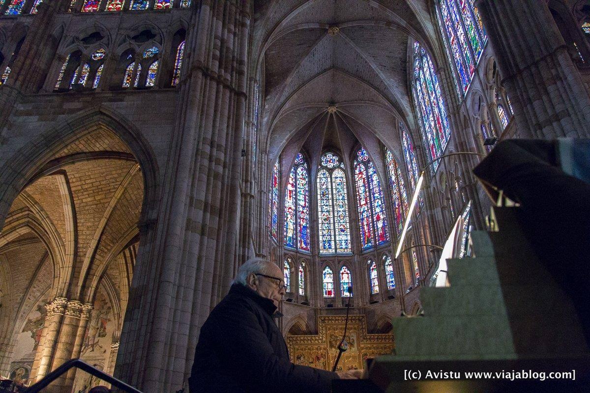 Concierto órgano Catedral León, I Encuentro Viajero Responsable