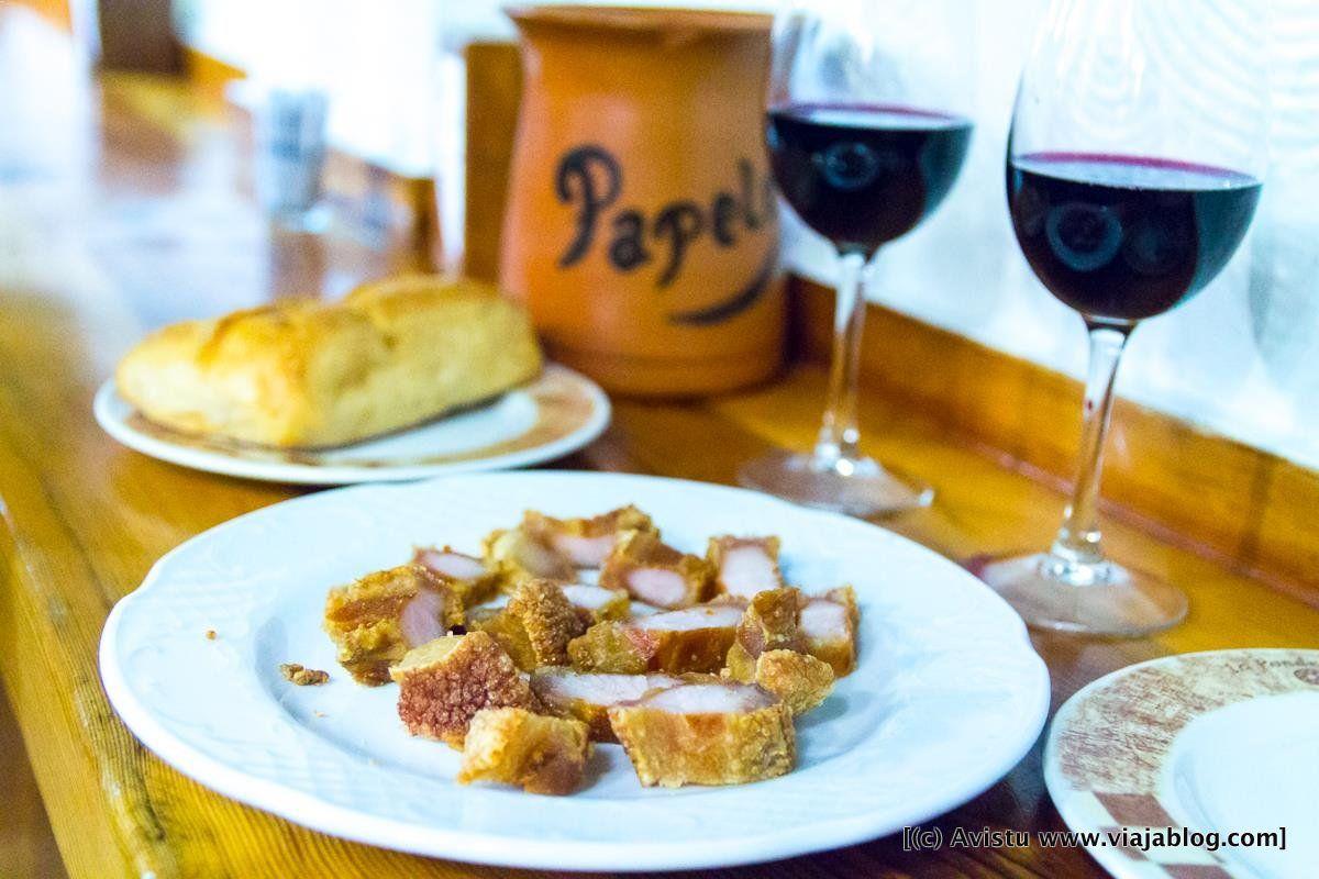 Torreznos de Bar Restaurante La Ponderosa (Cuenca)