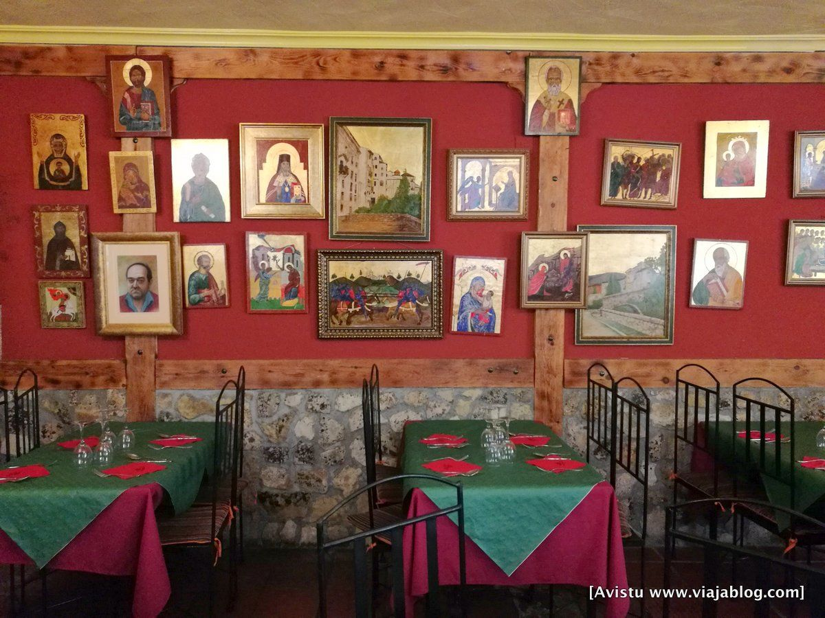 Decoración del Hostal Restaurante Los Callejones (Cuenca)