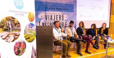 Mesa II en I Encuentro Viajero Responsable León