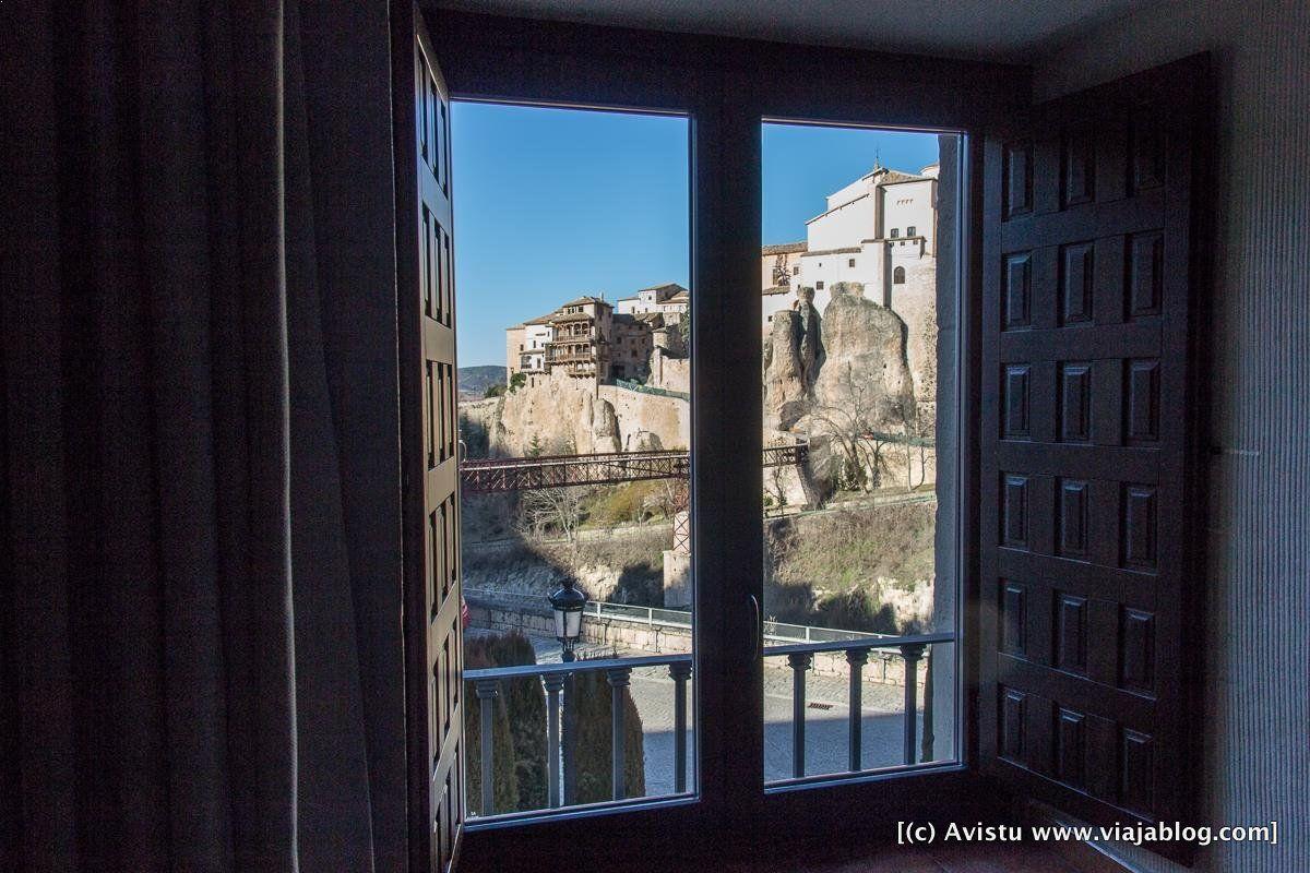 Vistas desde habitación en Parador de Cuenca