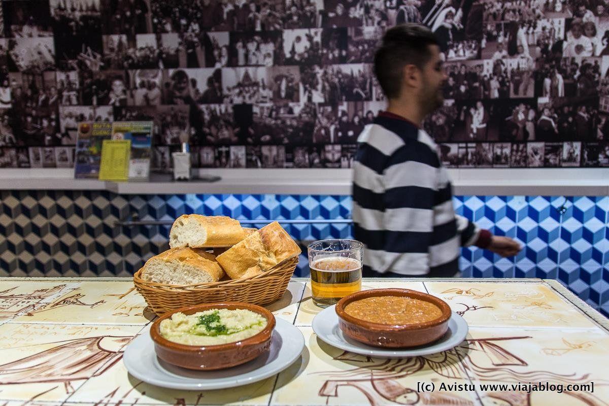 Ajoarriero y Morteruelo, Restaurante San Juan Plaza Mayor (Cuenca)
