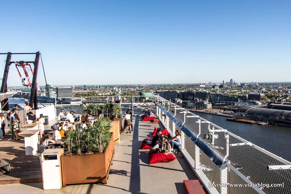 Torre A´Dam en Amsterdam