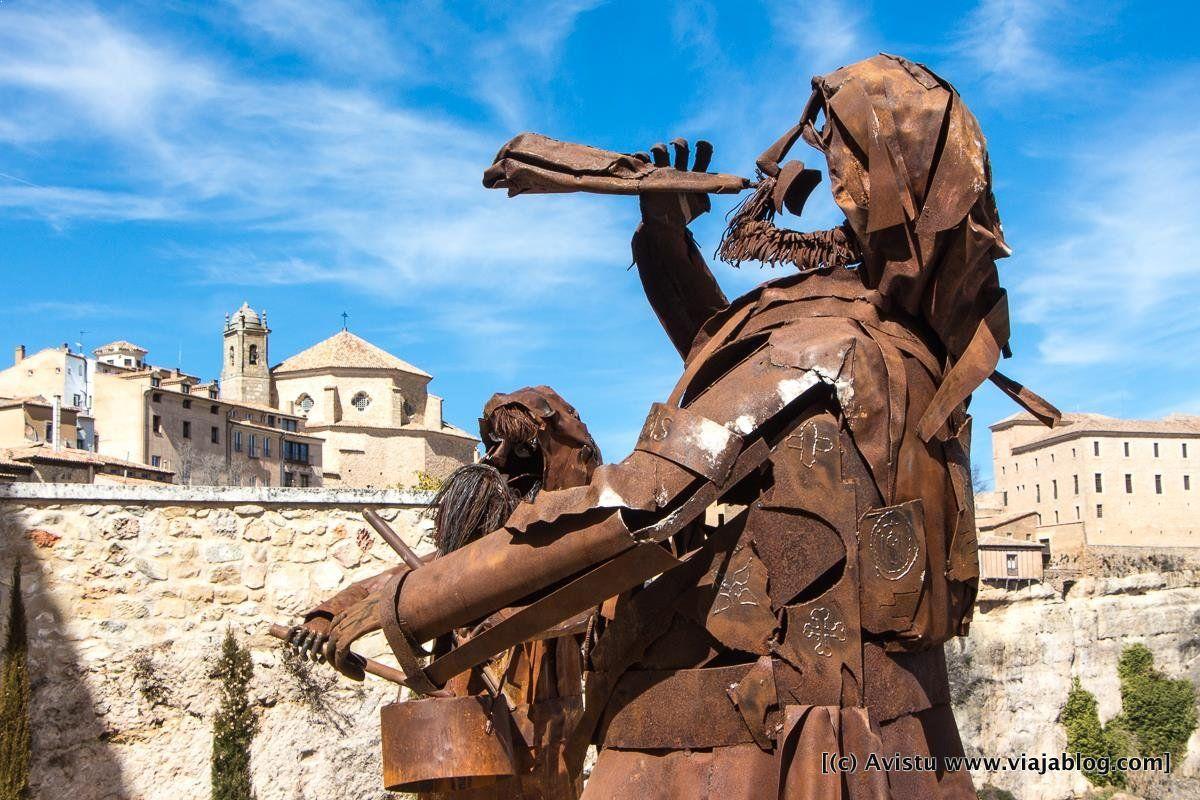 """Conjunto artístico dedicado a """"Las Turbas"""" en Cuenca"""