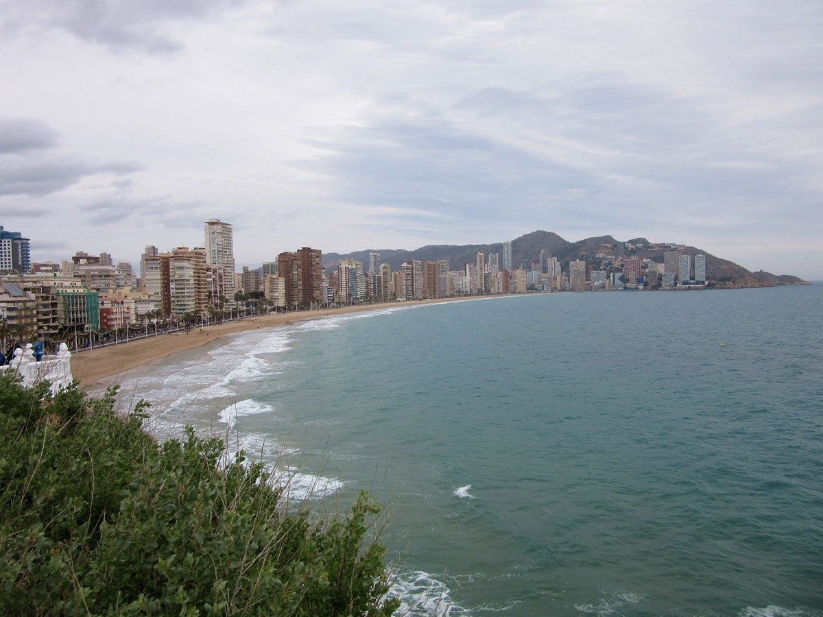 Playa Levante Benidorm