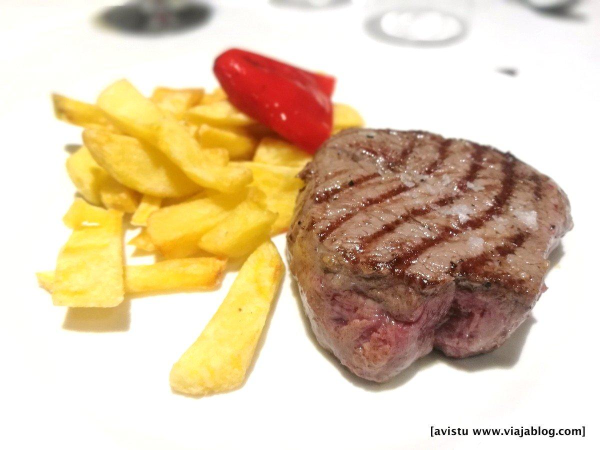 Carne en restaurante de Asturias