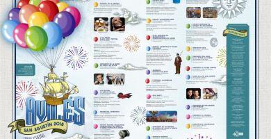 Programa Fiestas San Agustin
