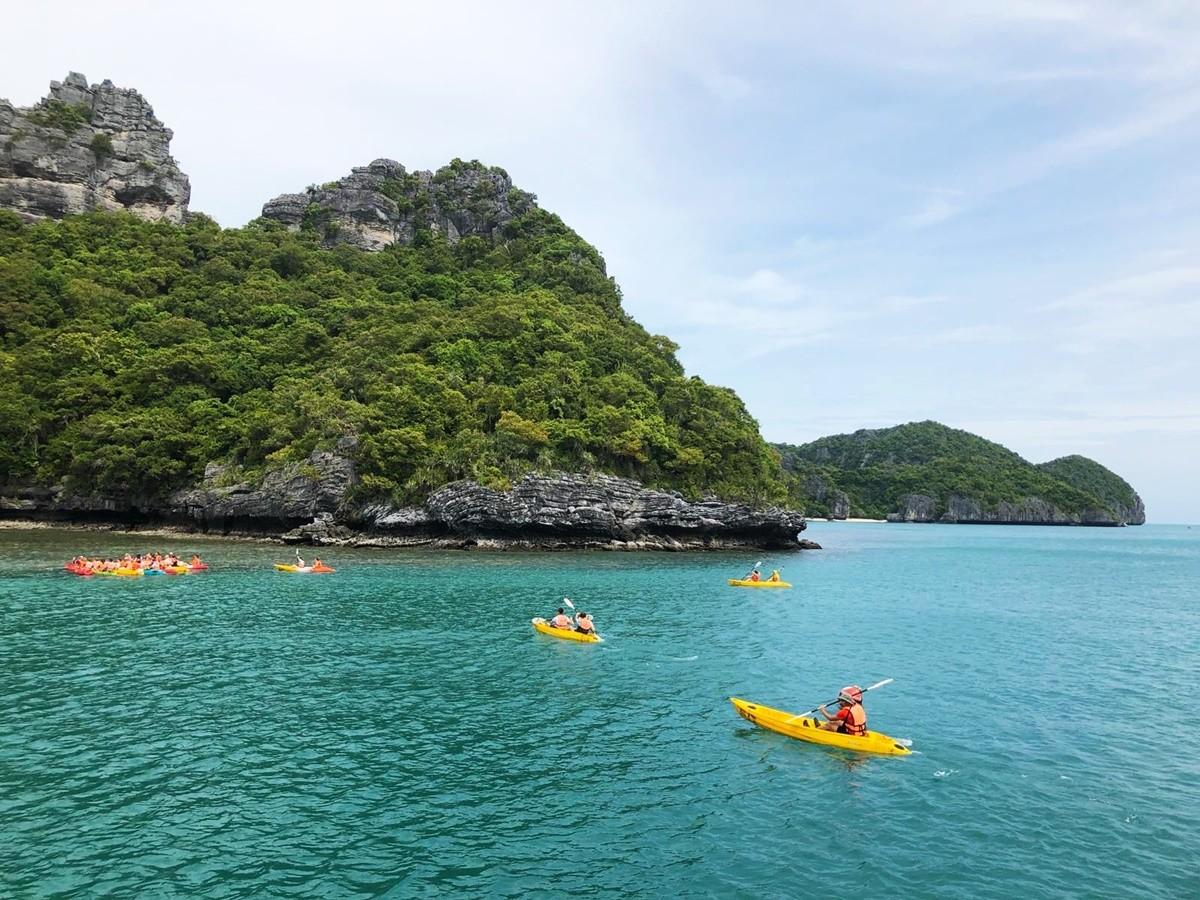kayak tailandia