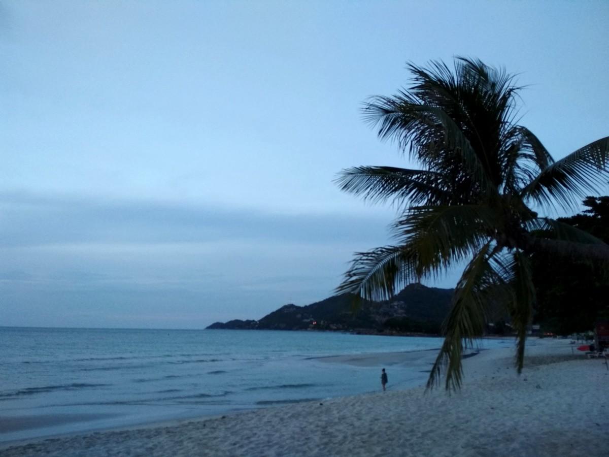 samui amanecer Tailandia