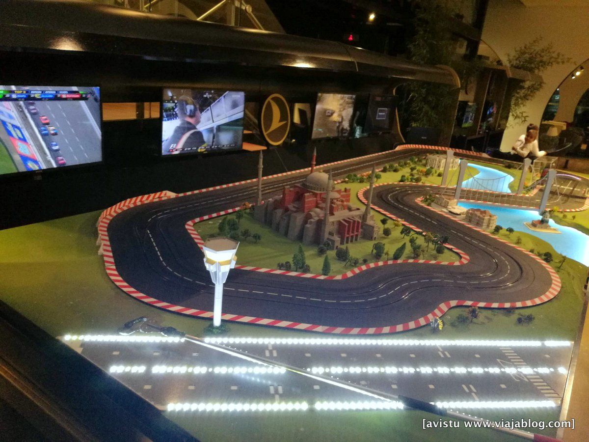 Scalextric Sala VIP Turkish Airlines Estambul