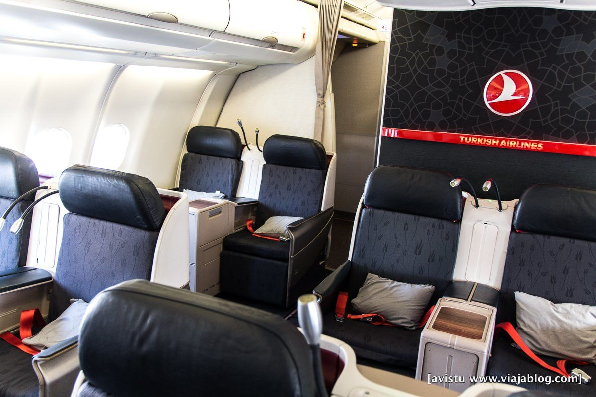 Clase Business Turkish Airlines