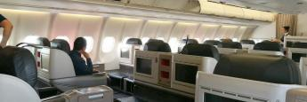 Cabina Clase Business Turkish Airlines