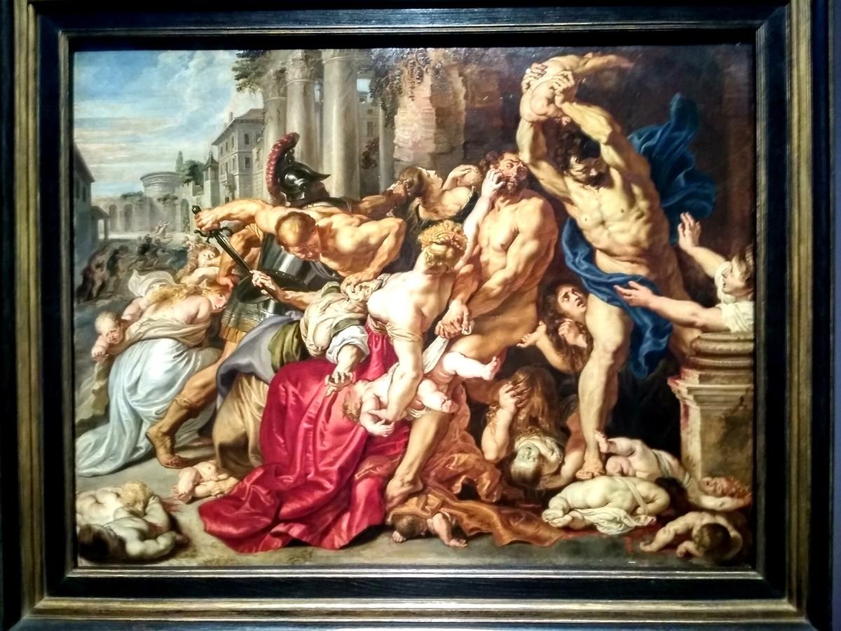 La Matanza de los Inocentes de Rubens