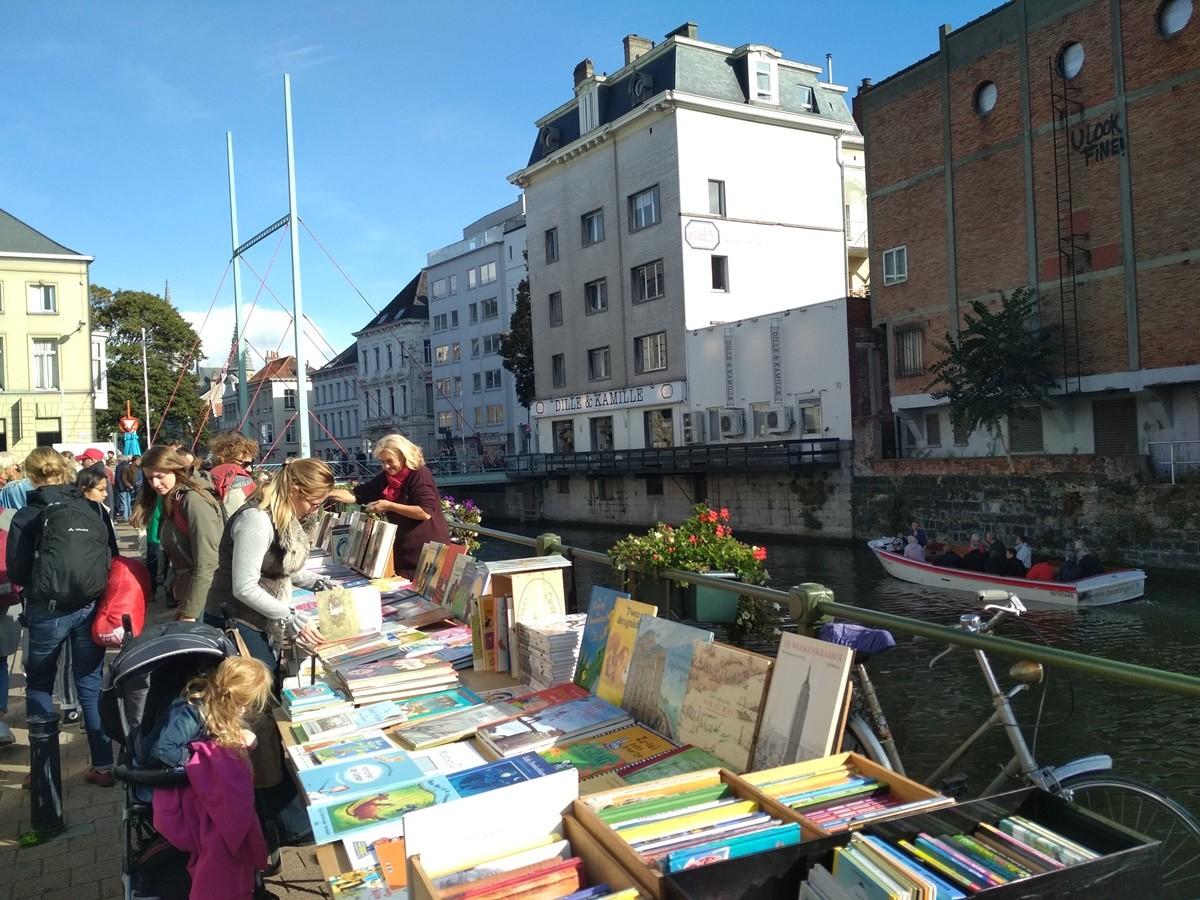Libros en Gante