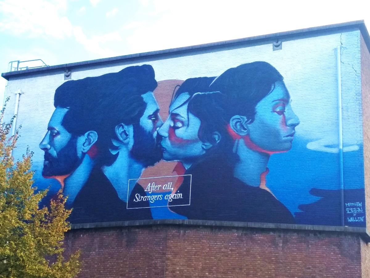 Gante arte urbano
