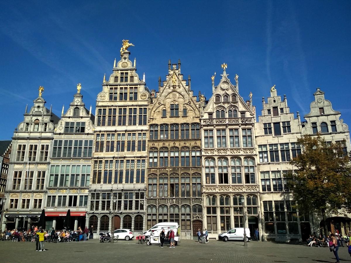 Plaza de Grote Markt en Amberes