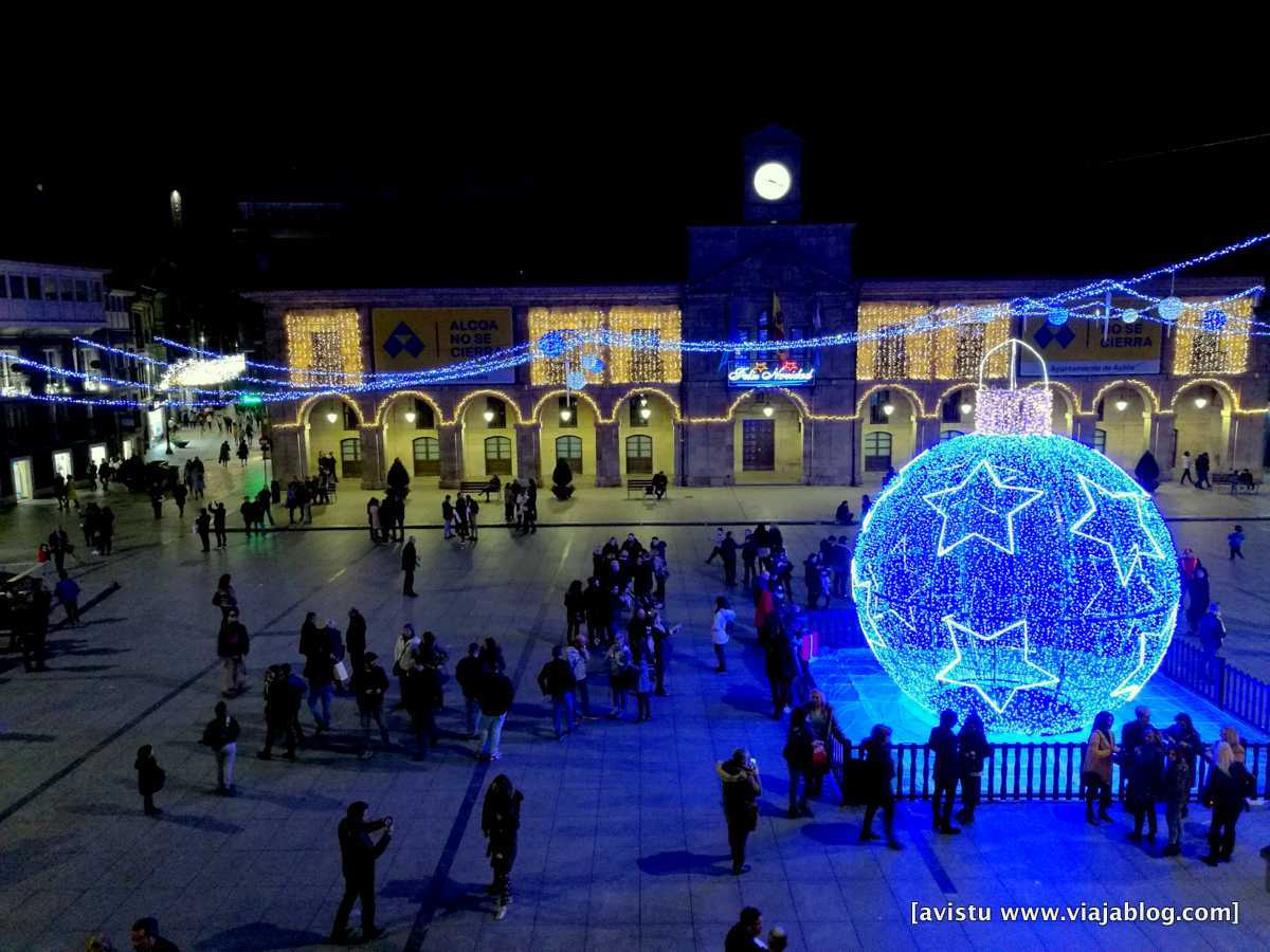 Navidad en Avilés (Asturias)