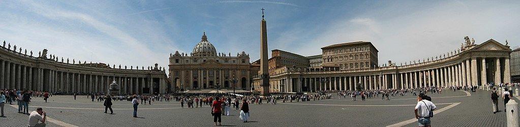 Vaticano Plaza de San Pedro