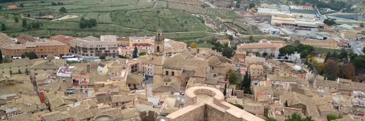 Visitando el castillo de Biar, en la provincia de Alicante