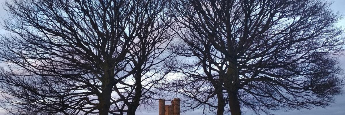 Visitando la Torre de Broadway, en los Cotswolds ingleses
