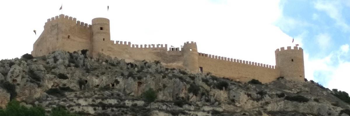 Visita al castillo de Castalla, en Alicante
