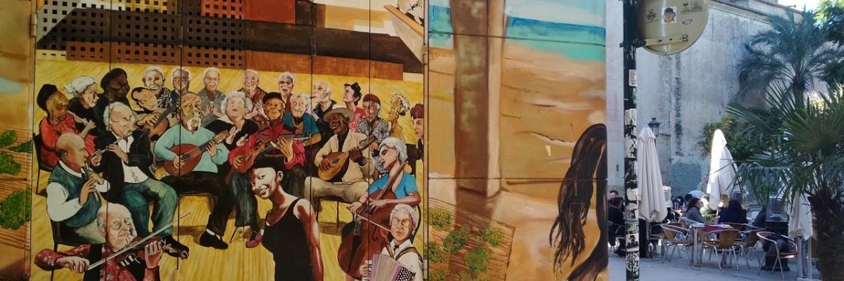 Recorrido de arte urbano en Valencia