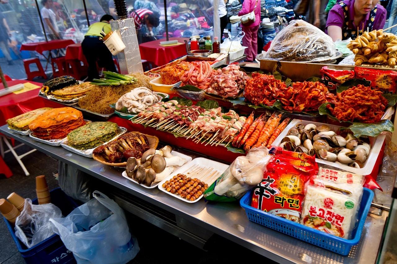 seul mercados corea del sur