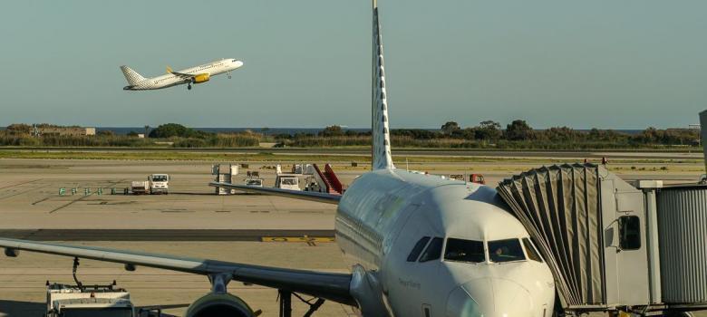 Aviones de Vueling Aeropuerto Barcelona
