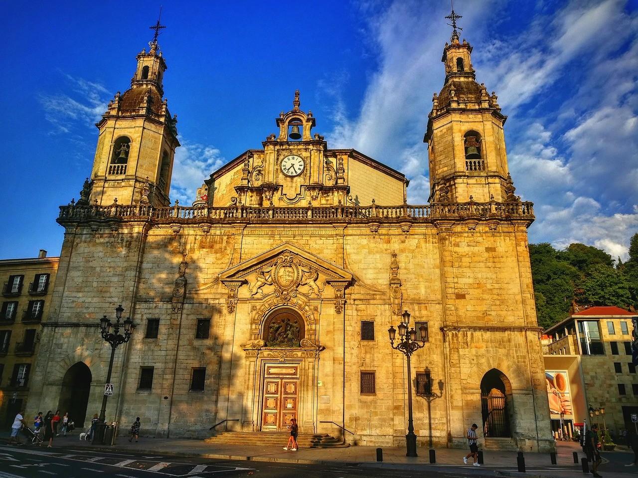 iglesia de San Nicolás en Bilbao