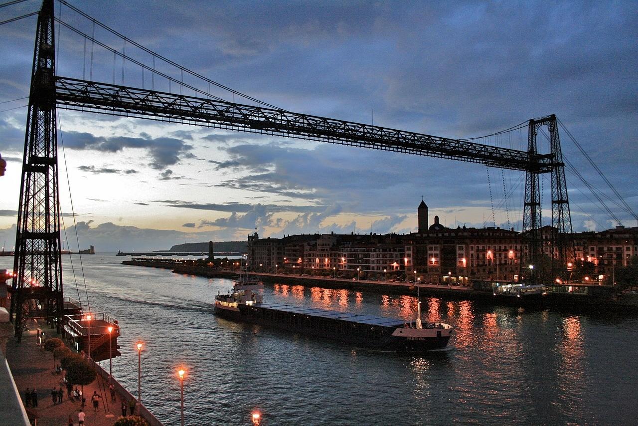 Puente Bizkaia Bilbao