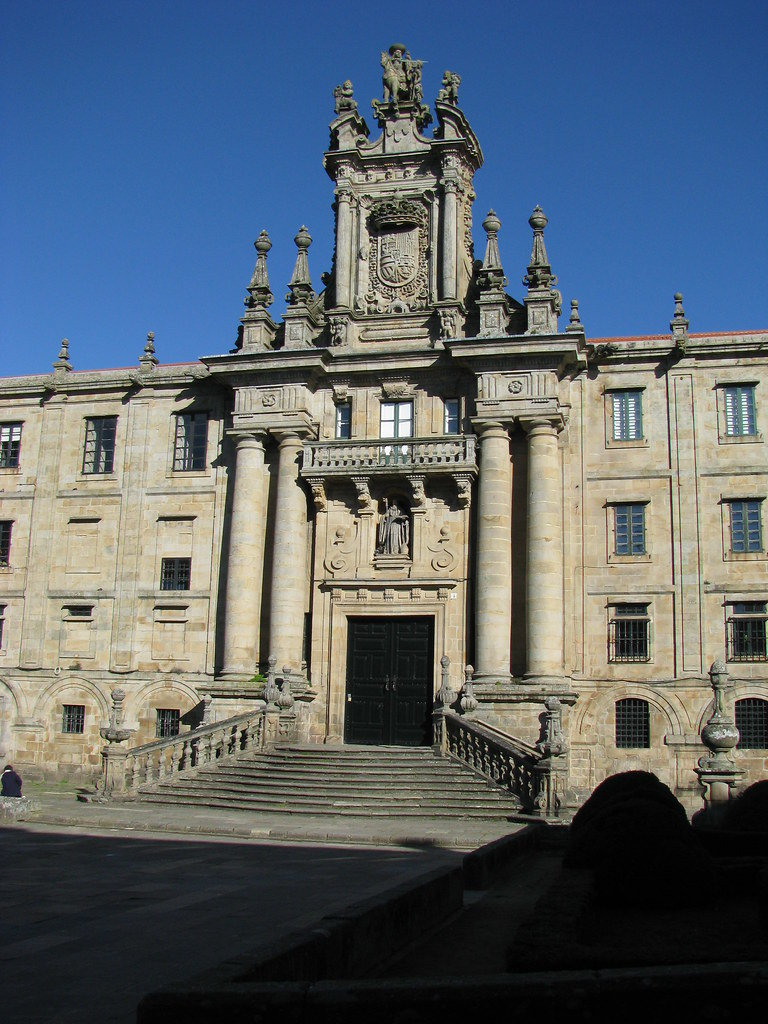 San martín Pinario Santiago de Compostela