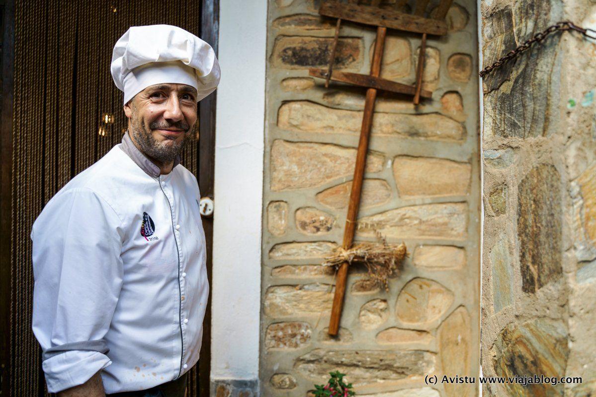 Juan Andrés, Restaurante Casa Juan Andrés, Castrillo de los Polvazares, León