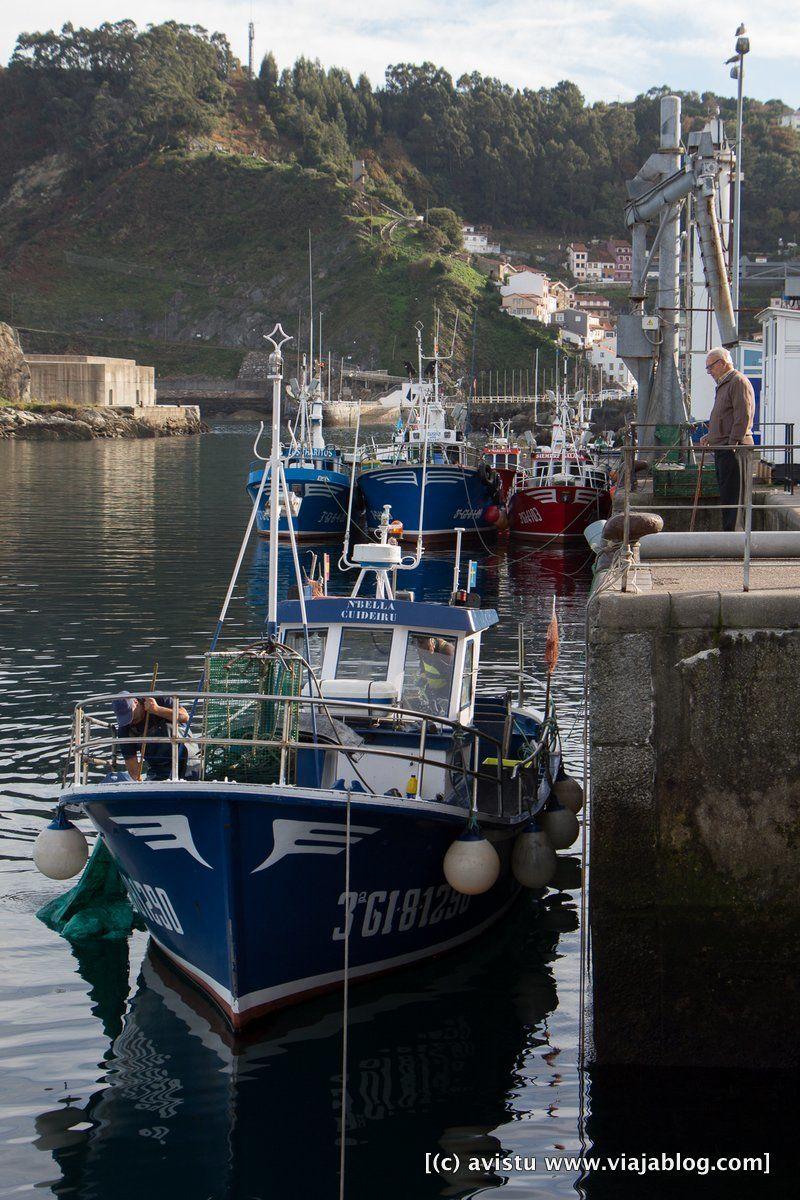 Barco de pesca Asturias