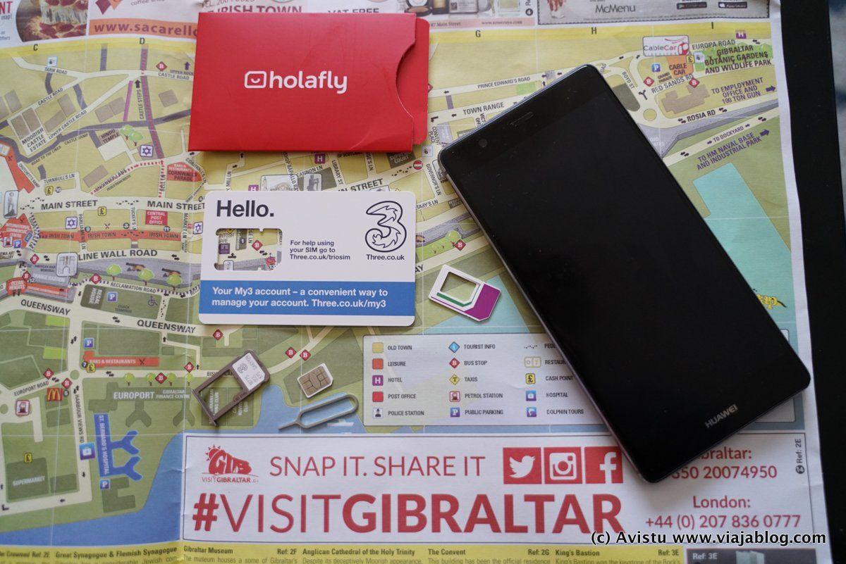 Tarjeta HolaFly Gibraltar III