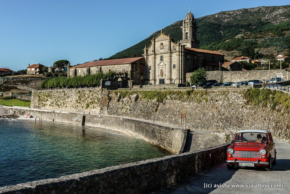 Real Monasterio de Santa María de Oya Rias Baixas Galicia