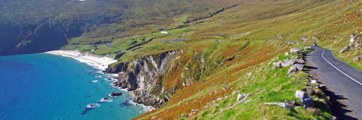 Las mejores rutas en coche por la costa oeste de Irlanda