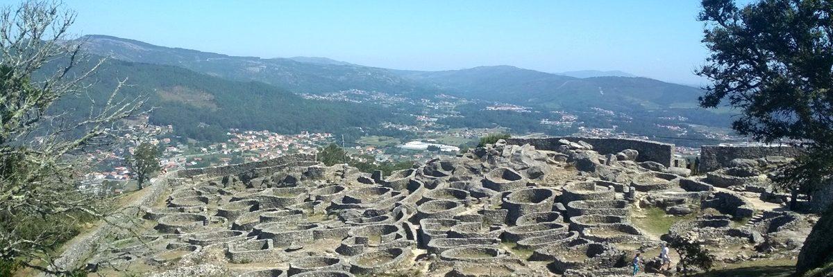 Historia, el Miño y paisajes en el Monte de Santa Tecla, Pontevedra
