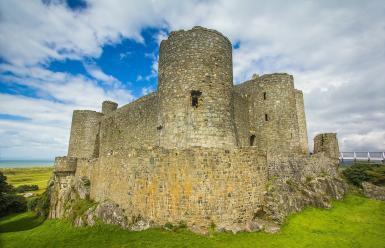 Viajando a la historia de los castillos de Gales