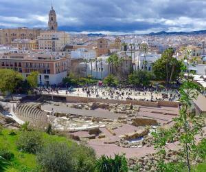 Teatro romano de Málaga. Foto Pixabay