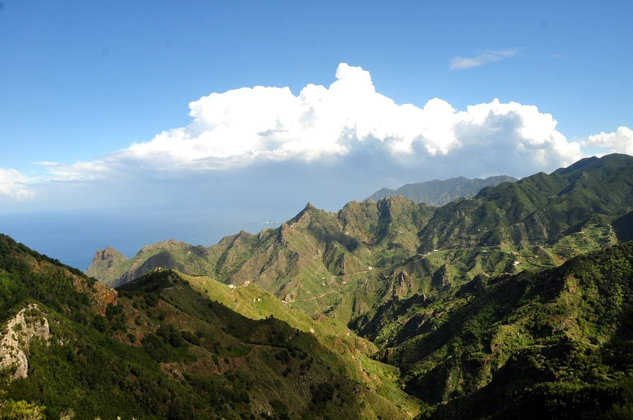 Macizo de Anaga que ver en el norte de Tenerife