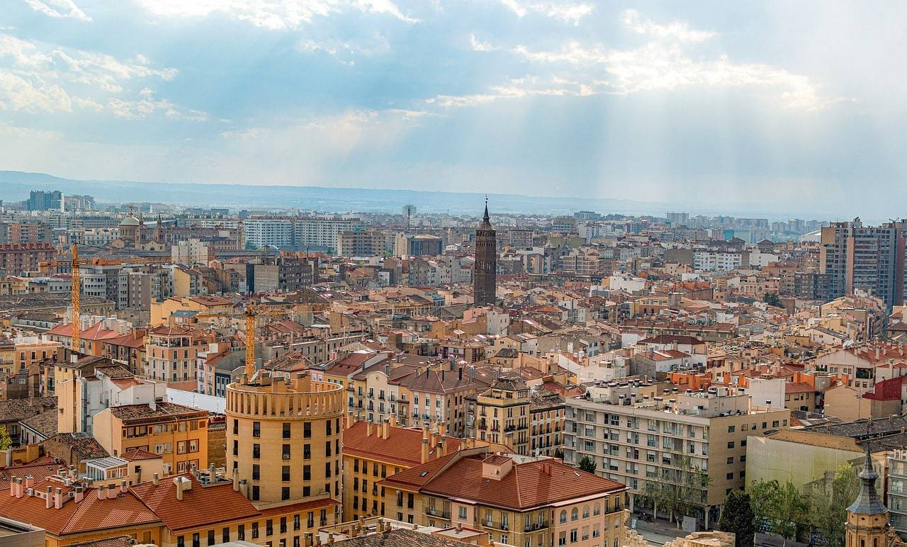 dónde alojarse en Zaragoza
