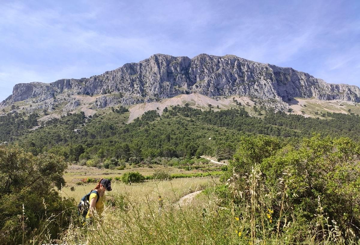 ruta circular sierra de Bernia Alicante