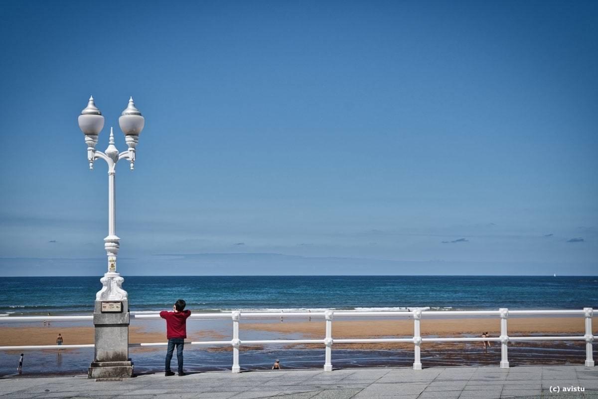 Playa de San Lorenzo (Gijón, Asturias)