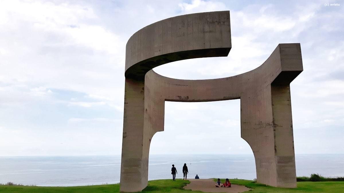 El Elogio del Horizonte de Eduardo Chillida (Gijón, Asturias)