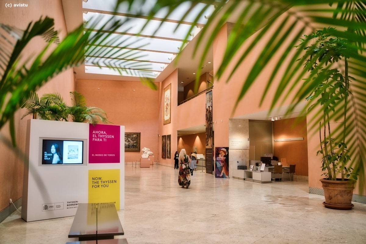 Acceso a la colección permanente, Museo Thyssen Bornemisza
