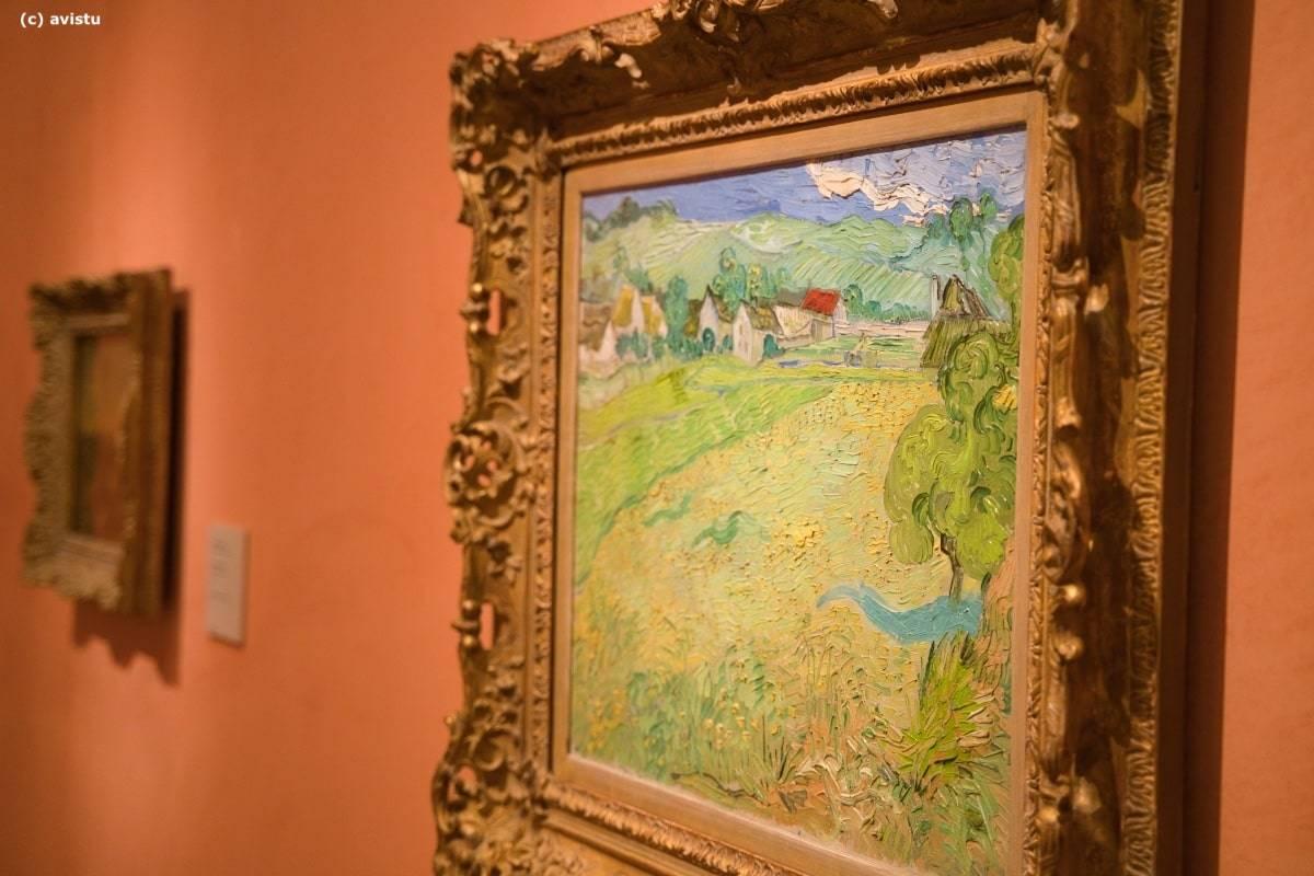 """""""Les Vessenots en Auvers"""", Vincent Van Gogh, Museo Thyssen Bornemisza"""