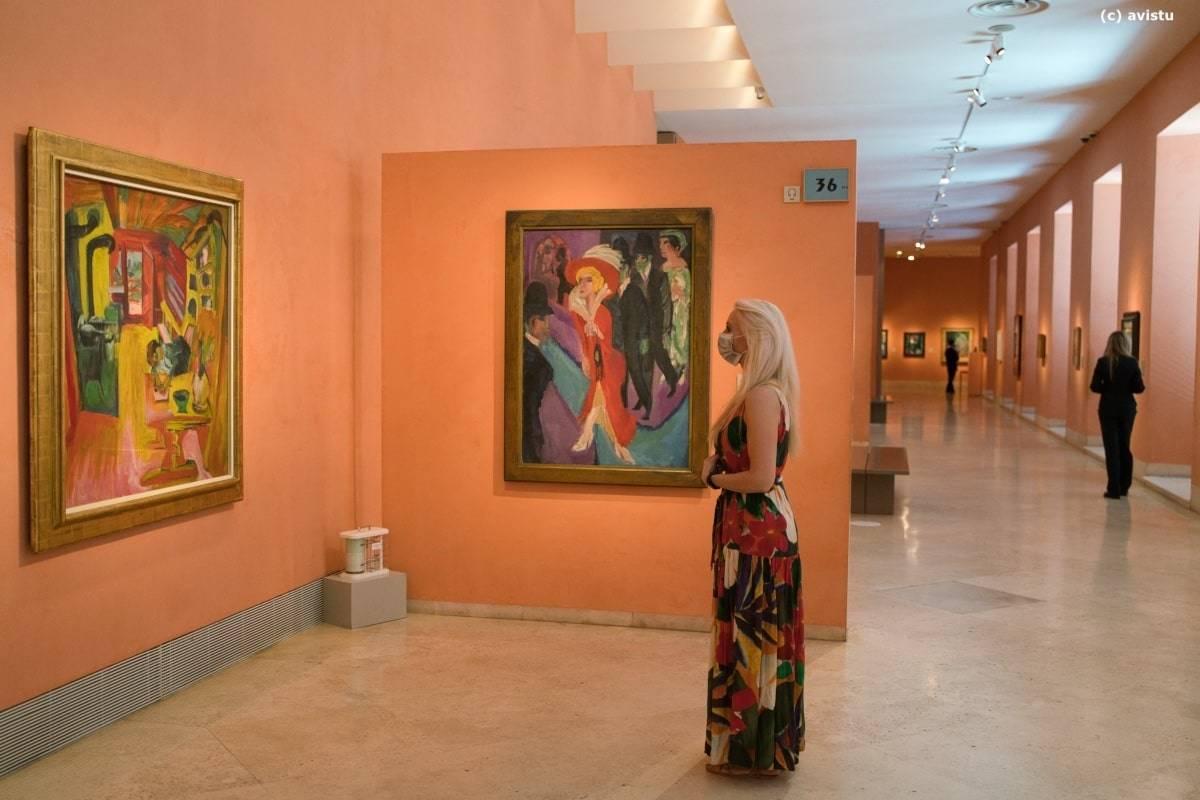 Obras de Ernst Ludwig Kirchner en el Museo Thyssen Bornemisza