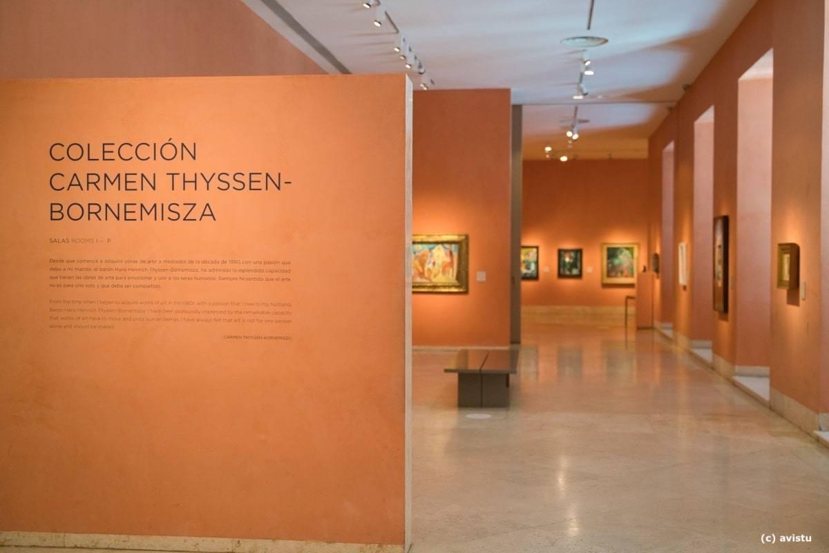 """Acceso a la colección """"Carmen Thyssen-Bornemisza"""", Museo Thyssen Bornemisza"""